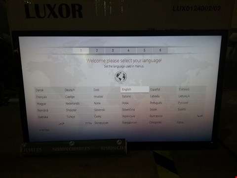 "Lot 73 BOXED LUXOR 24"" HD READY FREEVIEW SMART LED TV"