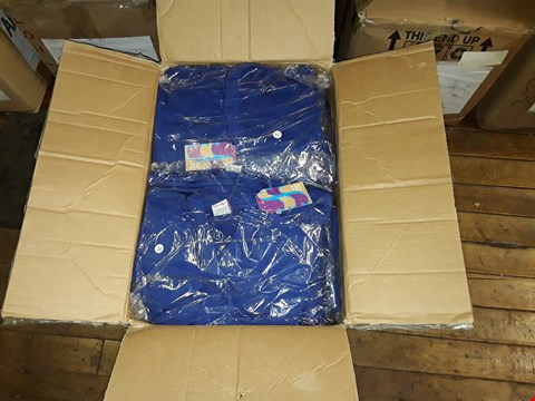 Lot 1366 A BOX OF APPROXIMATELY 50 GIRL'S CARDIGANS - ROYAL BLUE