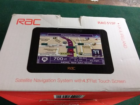 Lot 393 BeOXED RAC 515F SAT NAV SYSTEM (LOT 24)