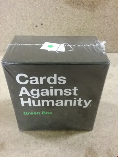 Lot 382 BRAND NEW CARD AGAINST HUMANITY GREEN BOX