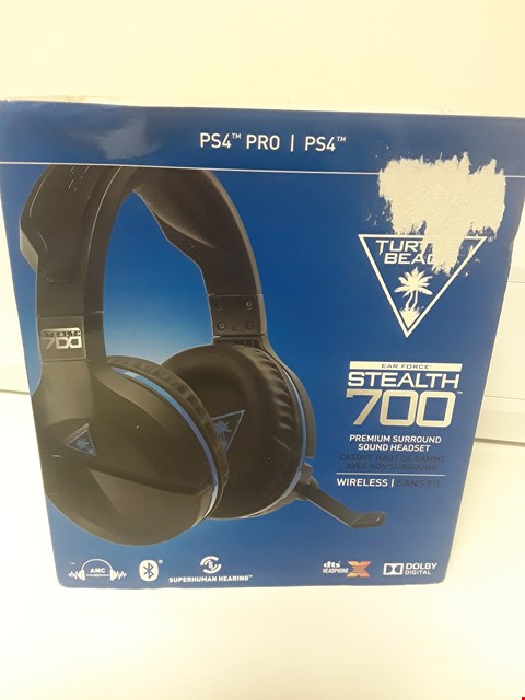 Lot 1439 BOXED TURTLE BEACH STEALTH 700 WIRELESS HEADSET
