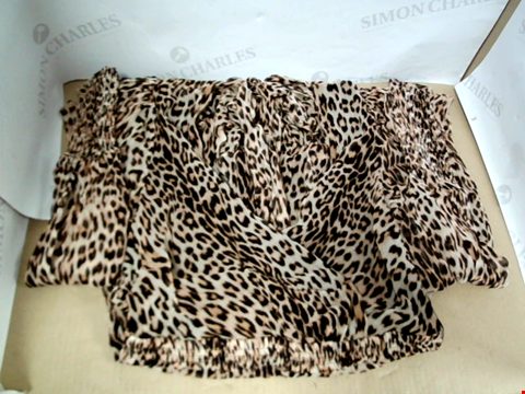 Lot 7093 BEC & BRIDGE KITTY KAT LEOPARD PRINT DRESS - SIZE 8