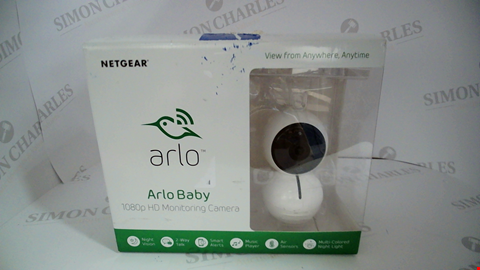 Lot 17099 NETGEAR ABC1000 ARLO BABY SMART HD BABY MONITORING CAMERA