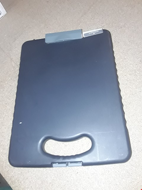 Lot 1657 OFFICEMATE DELUXE TABLET CLIPBOARD CASE WITH LED LIGHT, 83316, CHARCOAL