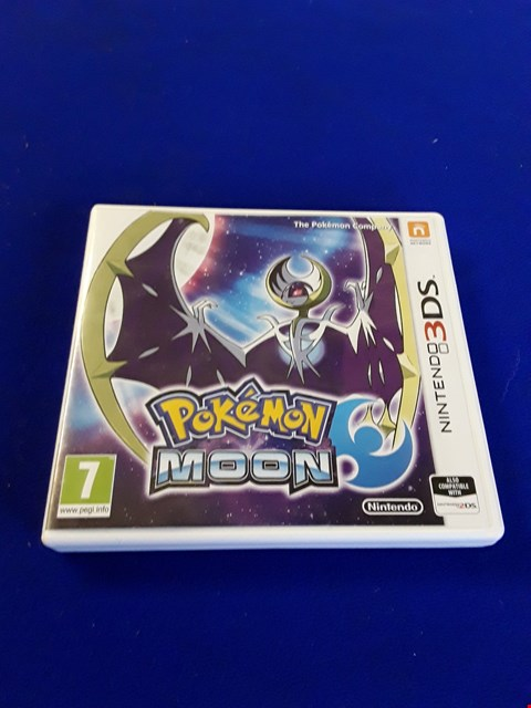 Lot 7612 POKEMON MOON NINTENDO 3DS GAME