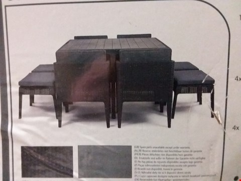 Lot 3518 BOXED KETER GARDEN DINING SET