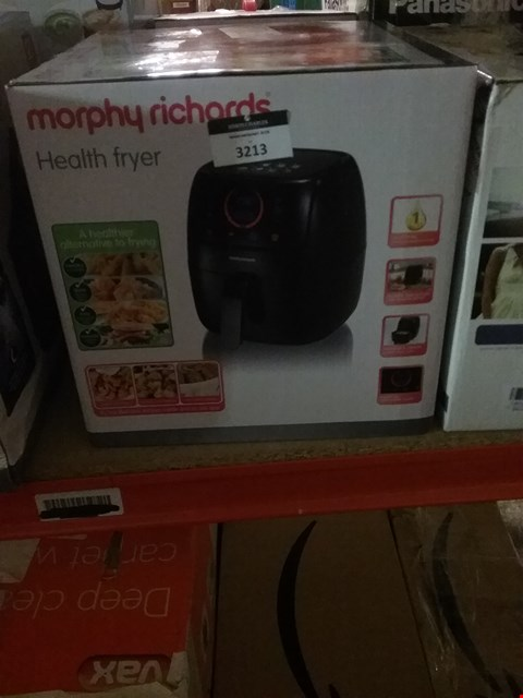 Lot 3213 MORPHY RICHARDS HEALTH FRYER