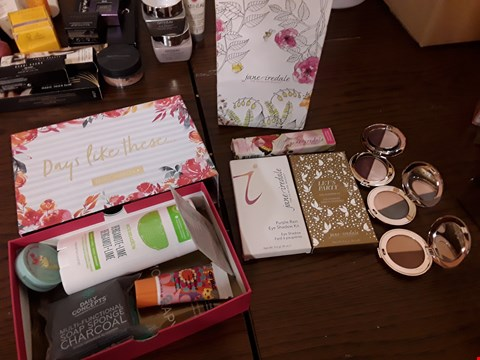 Lot 2117 APPROXIMATELY 12 ITEMS CONSISTING OF BIRCHBOX (6 ITEMS) TO INCLUDE WINKY LUX STROBING BALM, AMIKA SOULFOOD NOURISHING MASK AND JANE IREDALE MAKEUP KIT (6 ITEMS) TO INCLUDE PURPLE RAIN EYESHADOW KIT