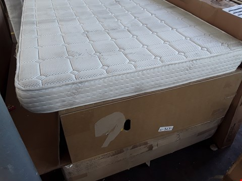Lot 7026 TWO BOXED DIVAN BASE SECTIONS & UNBAGGED 4' SMALL DOUBLE DORMEO MATTRESS