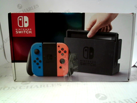 Lot 3088 NINTENDO SWITCH GAMES CONSOLE