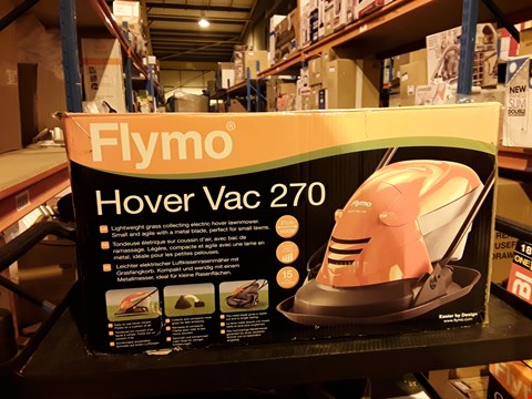 Lot 4339 FLYMO HOVER VAC 270 ELECTRIC HOVER LAWN MOWER