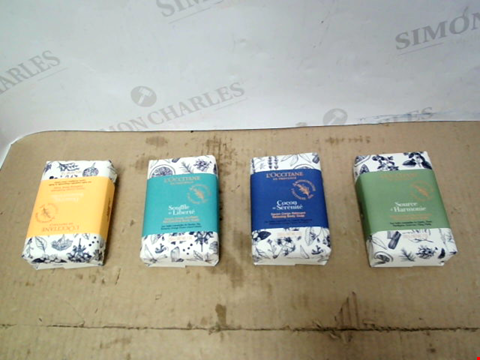 Lot 10207 L'OCCITANE 4 PIECE A SOAP FOR EVERY MOOD