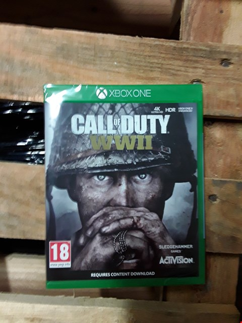 Lot 1543 BRAND NEW CALL OF DUTY WORLD AT WAR II FOR XBOX ONE RRP £64.99