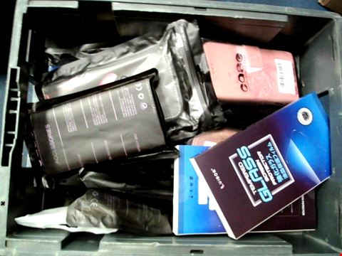 Lot 10679 4 BOXES OF SIGNIFICANT QUANTITY OF ASSORTED PHONE CASES AND PHONE PROTECTORS