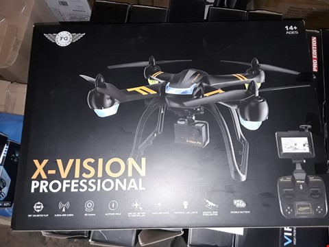 Lot 7140 X-VISION PROFESSIONAL DRONE WITH HD CAMERA