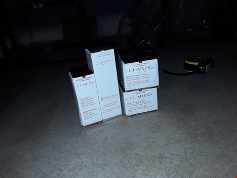 Lot 8074 4 X CLARINS COSMETIC PRODUCTS
