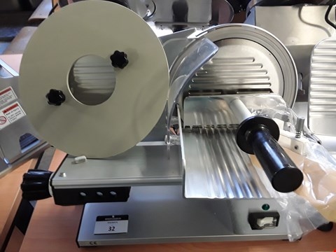 Lot 34 ELECTRIC COLD MEAT SLICER
