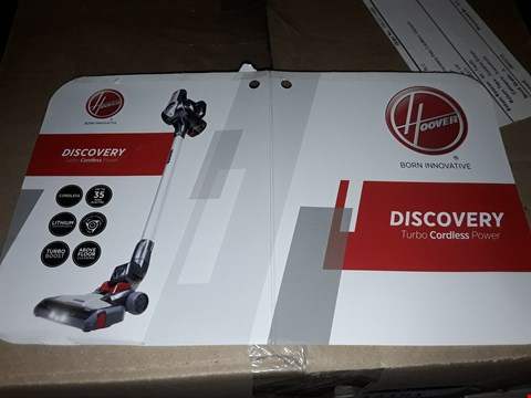 Lot 14190 HOOVER DISCOVERY CORDLESS VACUUM CLEANER