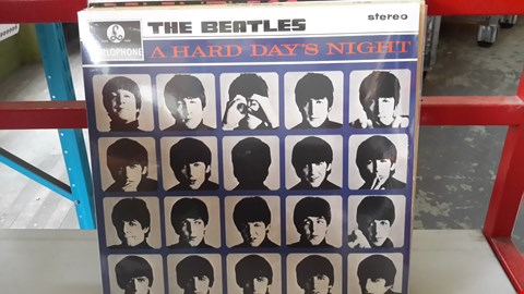 Lot 9080 LOT OF 10 VINYL RECORDS TO INCLUDE THE BEATLES, THE STEVE MILLER BAND, DIANA ROSS, ELLA FIZGERALD,  PUBLIC IMAGE ETC