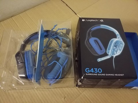 Lot 8032 LOGITECH G430 GAMING HEADSET