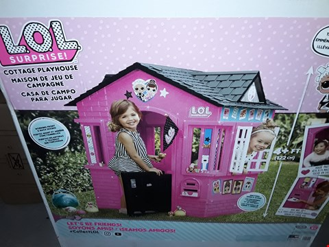 Lot 33 BOXED GRADE 1 LOL SUPTISE COTTAGE PLAY HOUSE  RRP £164.99