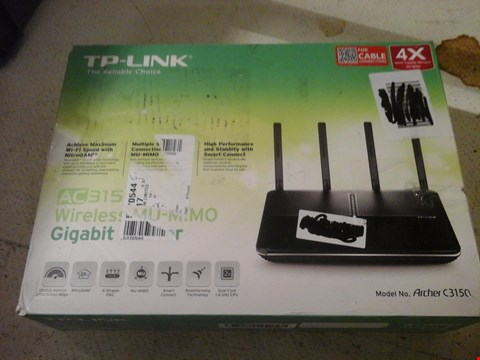 Lot 4 TP LINK WIRELESS MU-MIMO