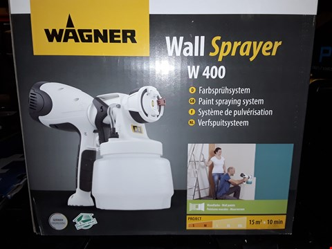 Lot 469 BOXED WAGNER W400 WALLSPRAYER