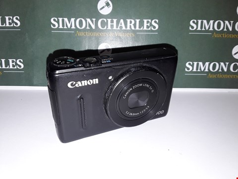 Lot 24 UNBOXED CANON POWERSHOT S100 DIGITAL CAMERA