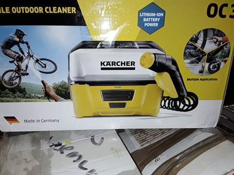 Lot 12541 KÄRCHER OC3 PORTABLE CLEANER, 6 V