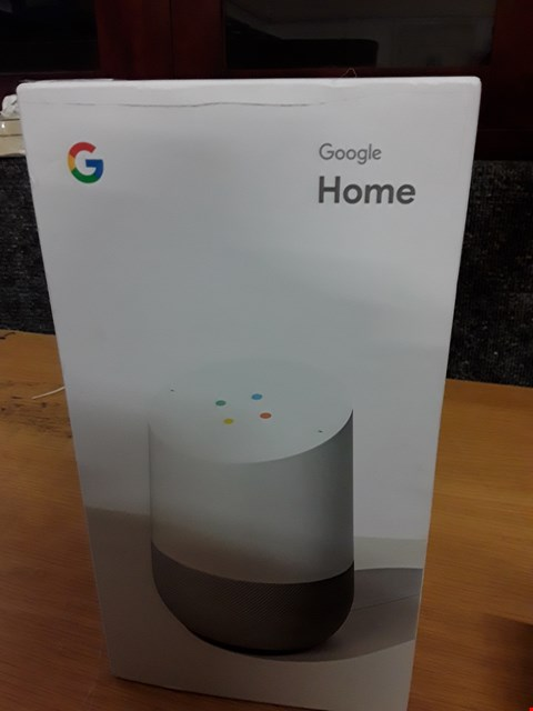 Lot 66 GOOGLE HOME SMART SPEAKER RRP £129