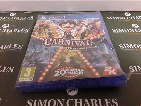 Lot 1293 CARNIVAL GAMES PS4
