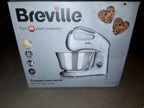 Lot 349 BREVILLE COMPACT TWIN MOTOR MIXER