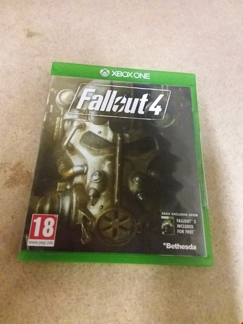 Lot 8233 FALLOUT 4 XBOX ONE GAME
