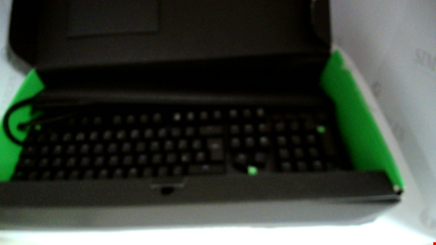 Lot 17083 RAZER BLACKWIDOW ELITE, MECHANICAL GAMING KEYBOARD WITH GREEN SWITCHES (TACTILE AND CLICKY), RGB CHROMA LIGHTING AND MAGNETIC WRIST REST, UK-LAYOUT