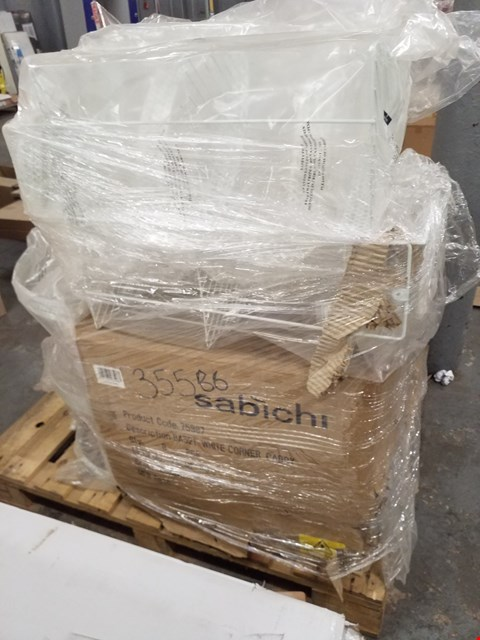 Lot 10248 PALLET CONTAINING APPROXIMATELY 8 SABICHI WHITE CORNER CADDIES