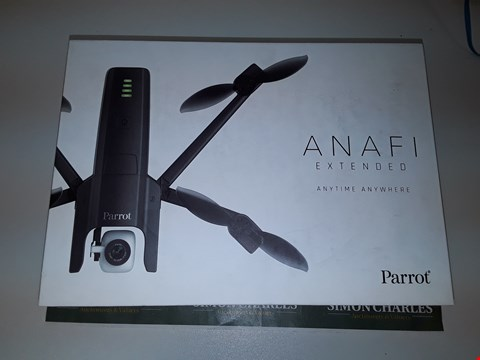 Lot 6560 PARROT ANAFI EXTENDED PACK, 4K HDR CAMERA DRONE