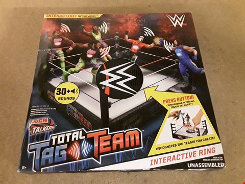 Lot 2509 LOT OF 2 ASSORTED ITEMS TO INCLUDE A WWE TOTAL TAG TEAM INTERACTIVE RING AND LITTLE TIKES TOY PARTS