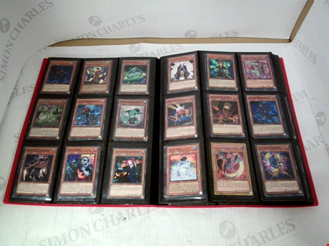 Lot 3111 LARGE FOLDER OF ASSORTED YU-GI-OH! CARDS