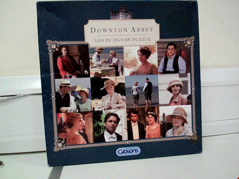 Lot 8062 GIBSONS DOWNTON ABBEY 1000 PIECE JIGSAW PUZZLE