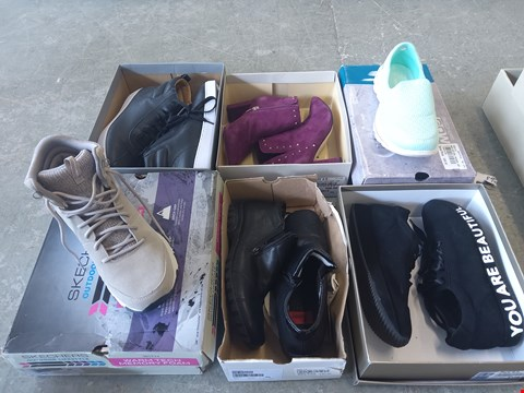 Lot 373 6 PAIRS OF FOOTWEAR TO INCLUDE: SKECHERS, PETER-KAISER