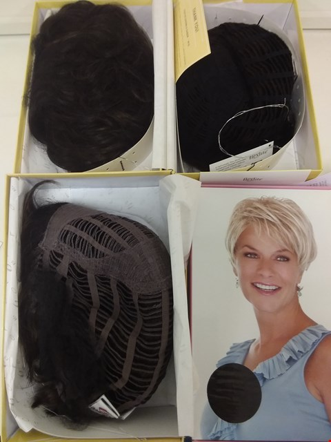 Lot 583 LOT OF 4 ASSORTED WIGS