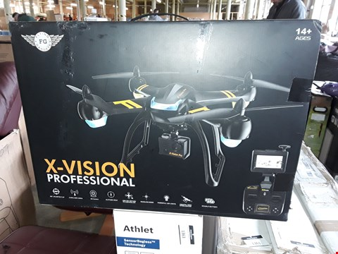 Lot 7026 X-VISION PROFESSIONAL DRONE WITH HD CAMERA