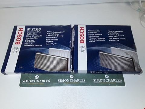 Lot 4024 BOSCH R 2433 AND M 2188 CABIN FILTERS