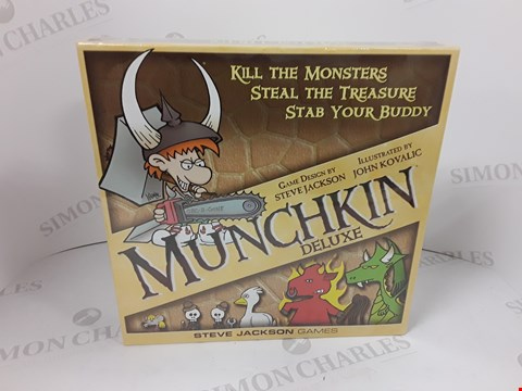 Lot 7178 BOXED SEALED MUNCHKIN DELUXE BOARD GAME