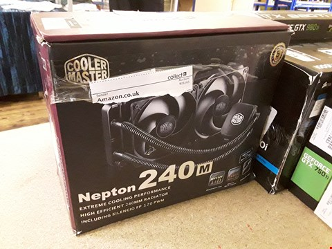 Lot 33 BOXED COOLMASTER NEPTON 240M.