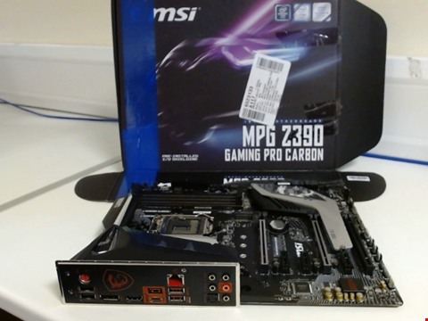 Lot 15169 MSI MPG Z390 GAMING PRO MOTHERBOARD