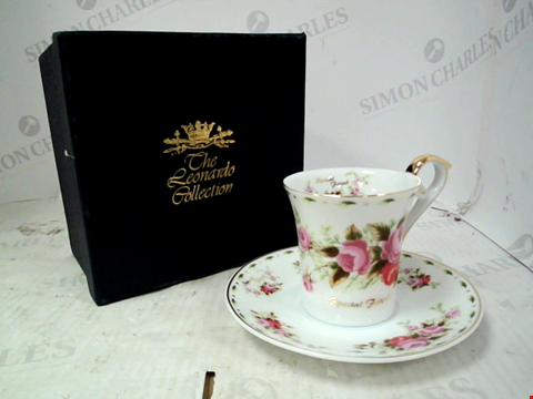 Lot 13176 LEONARDO COLLECTION SPECIAL FRIEND TEACUP AND SAUCER