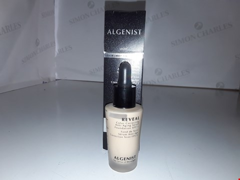 Lot 841 ALGENIST REVEAL COLOR CORRECTING ANTI-AGING SERUM FOUNDATION 30ML