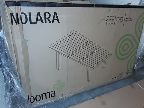 Lot 432 BLOOMA MOLARA 6-8 SEATER EXTENDING OUTDOOR DINING TABLE