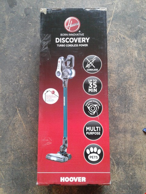 Lot 199 HOOVER DISCOVERY PETS CORDLESS VACUUM